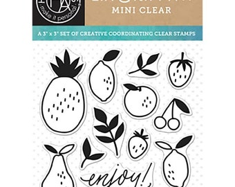 Hero Arts - Clear Stamp  by Lia - Enjoy Fruit