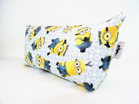 Toiletry bag minions travel bag oilcloth inside by prettygalbags