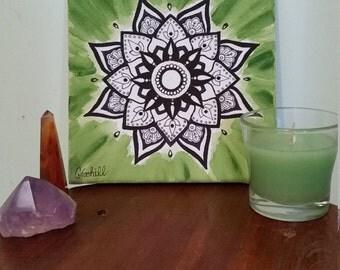 Green Mandala Madness
