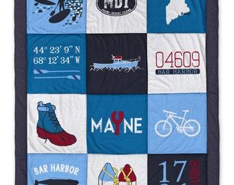 Bar Harbor Destination Blanket