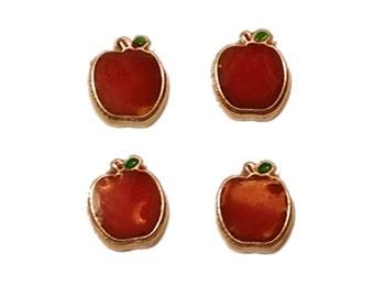 Adorable Tiny Mini Magnet Set Apples ~ Perfect Teacher Gift