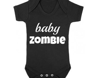 Baby Zombie Baby Halloween Bodysuit