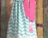 Peppa Pig Dress, Pillow Case Dress, Pillow Case Dresses