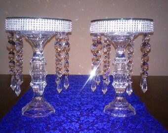 Chandelier Mirror Centerpiece Set