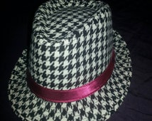 "Houndstooth Hat, University of Alabama and Coach Paul ""BEAR"" Bryant Favorite Design"