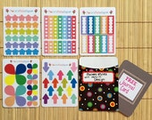 MP02 - Pack B - StickiPockets Mini Sheet Planner Stickers