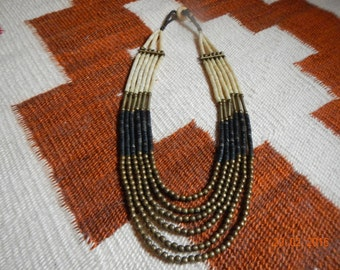 Native American-Inspired 6-Strand Necklace