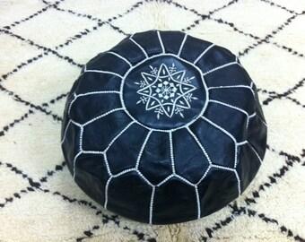 Set of Moroccan pouf