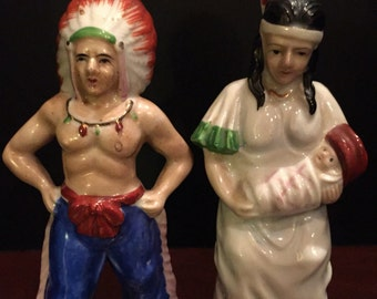 Indian Salt & Pepper Shakers