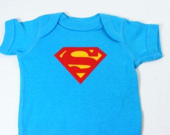 Super Man Baby Onesie Baby Boy Baby shower gift Super Hero Newborn