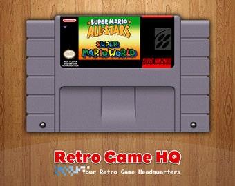 SNES - Super Mario All-Stars + Super Mario World