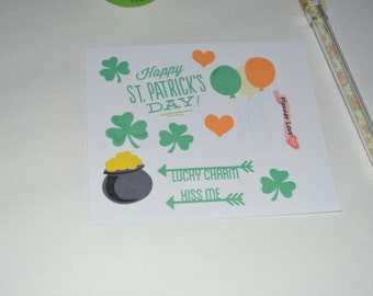 Saint Patrick Day Stickes