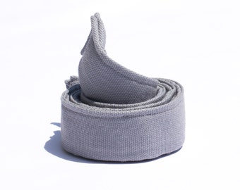 "Grey Children Belt - 1"" Wide Belt for Boys -Web Belt - Silver Belt - Waist Belts for Kids - Potty Training Belts for Boys - Baby Belts"