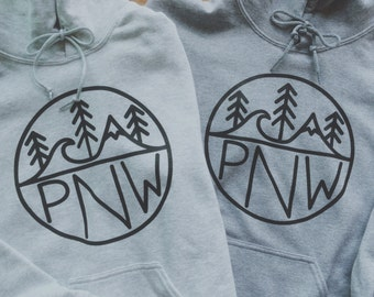 PNW logo Unisex Crewneck/Hoodie Sweatshirt