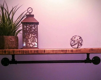 Modern Rustic Pipe shelf