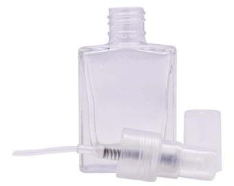 empty clear glass bottles atomizer spray bottles perfume bottle essential oil bottle