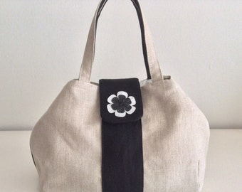 Linen bag with fioricini (production from order)