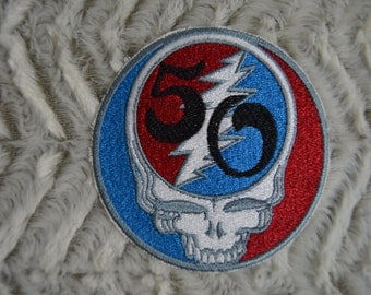 Steal Your Face 50th Anniversary GD Patch