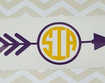 arrow frame monogram car - photo #19