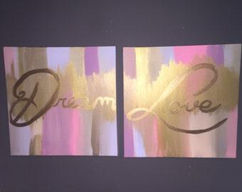 Dream Love Set of 2