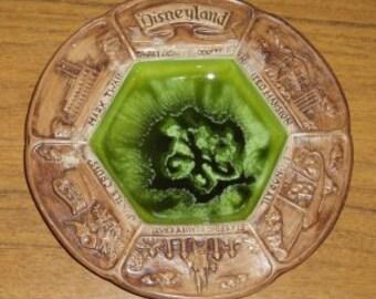 Vintage Disneyland Souvenir Dish