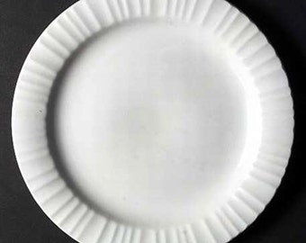 Corning French White Dinner Plate 10 1/4 inch
