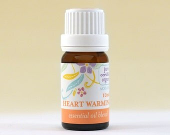 Heart Warming (10ml) 100% Pure Highest Grade (6-star) Certified Organic Essential Oil Blend