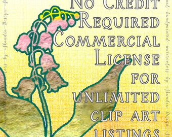 NO Credit required Limited Commercial License All Store Listings