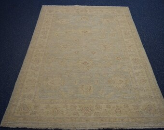 Best Hand knotted Oushak rug / Earth Tone Colors