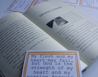 Fervent Prayer Cards. Scripture/Verse Printables