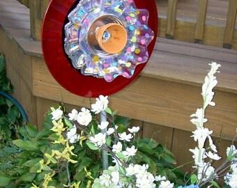 Garden Art - Ruffle flower