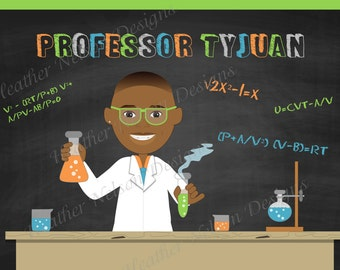 Mad Science Digital Backdrop