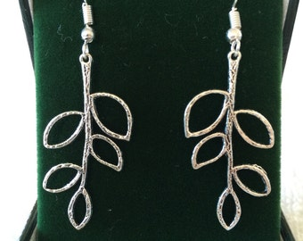 Branch Out Leaf Earrings