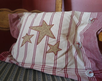 Rustic Farmhouse Decor Pillow