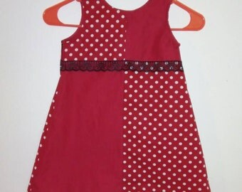 Pretty in Polka Dots- Red