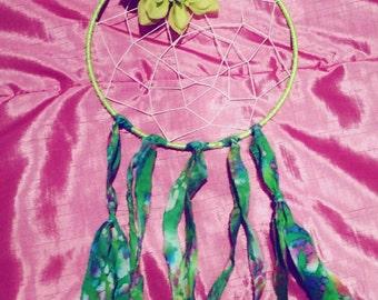 Green goddess dreamcatcher