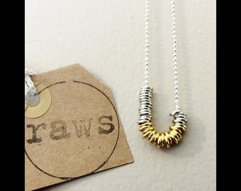 raws customised rings chain