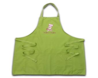Bitchin apron apron back apron BBQ apron gift mother's day