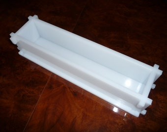 Soap Mold 15.7 inches Loaf Mold, Seifenform 40cm