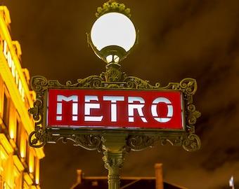 paris metro sign art photography paris home decordigital wall art digital - Metro Decor