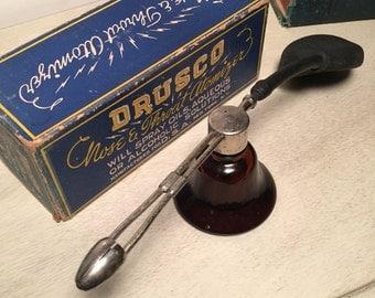 1930s Drusco Nose and Throat Atomizer Original Box