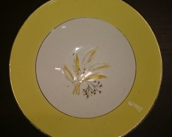 Autumn Gold china plates and bowls