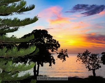 Sunset  Fine Art Photography Print