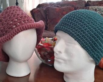 Winter caps. Men and women's