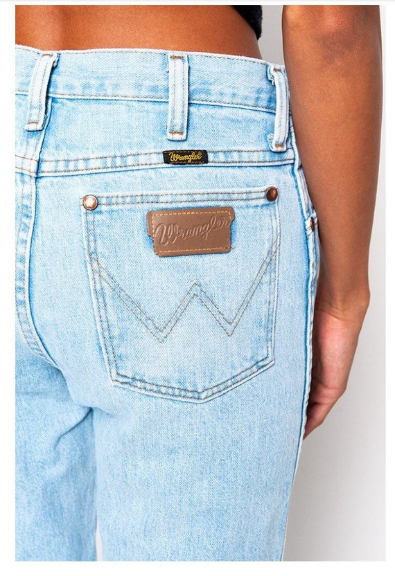 Light Wash Wrangler Jeans