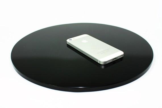 Miroir d 39 obsidienne noire 30cm par tallerdeobsidiana sur etsy for Miroir obsidienne
