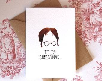 Dwight Schrute Christmas Card