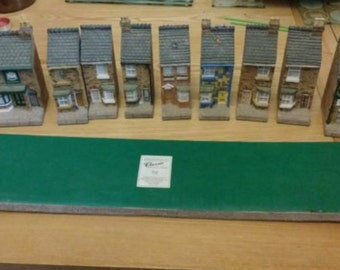Rare Coronation Street 35th anniversary models by John Hine Collectables