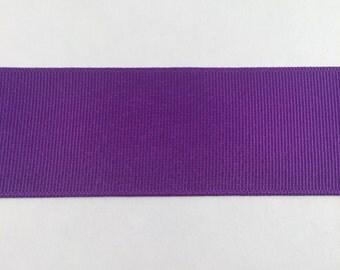 1.5 Inch Purple Grosgrain Ribbon