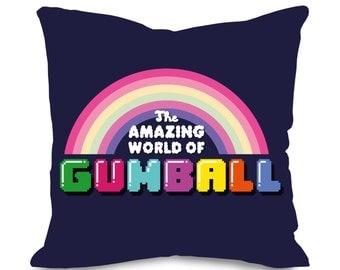 Amazing World of Gumball Cushion Cover